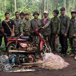 Community Members Confiscate over 500 Snares and 80 Chainsaws in Keo Seima Wildlife Sanctuary