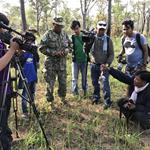 Group of Journalists Explore the Northern Plains of Cambodia