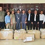 WCS provides assistance on a lion bone trafficking case