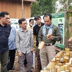 Ministry of Environment delegation visits Keo Seima Wildlife Sanctuary in Mondulkiri