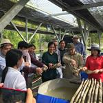 Delegates from Ministry of Agriculture, Forestry and Fisheries visit Koh Kong Reptile Conservation Center